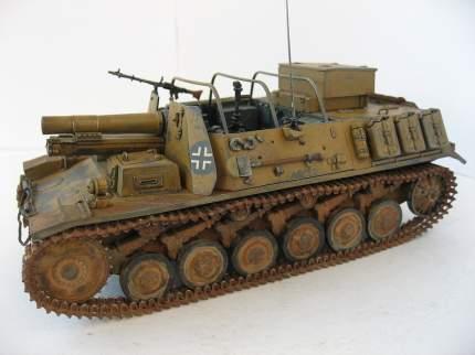 Немецкое 150-мм самоходное орудие Штурмпанцер II 35012 ARK-models 1/35