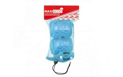 Комплект защиты Maxiscoo MSC-PR6190; голубой; S