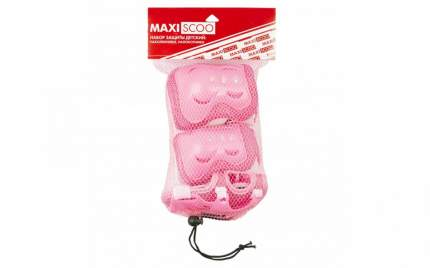 Комплект защиты Maxiscoo MSC-PR6190; розовый; S