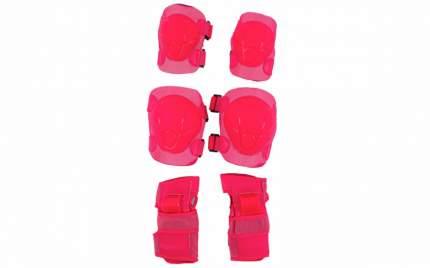 Комплект защиты Tech Team Safety Line 100; розовый; L