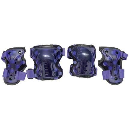 Комплект защиты Tech Team Safety Line 300; фиолетовый; S