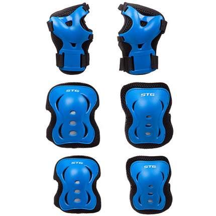Комплект защиты STG YX-0308; синий; M