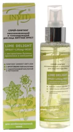 Спрей-лифтинг для лица Invit Lime Delight омолаживающий и тонизирующий, 110 мл
