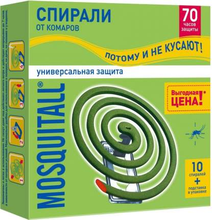 МОСКИТОЛЛ спирали Универсальная защита от комаров 10шт *12(0937)