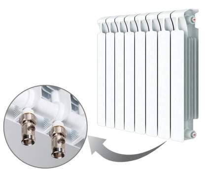 БиМеталлический радиатор Rifar Monolit Ventil 500  8 секций 50мм с НПП