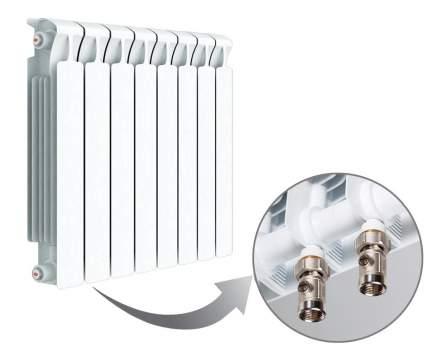 БиМеталлический радиатор Rifar Monolit Ventil 500 10 секций 50мм с НЛП