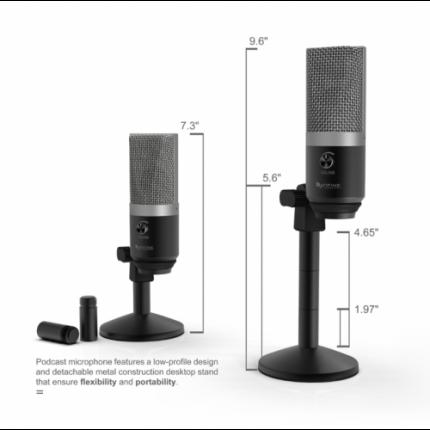 Микрофон Fifine K670 Black