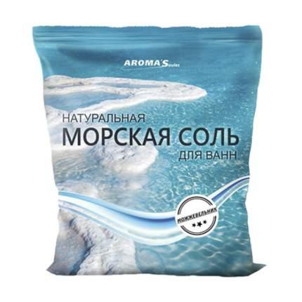 Соль морская для ванн Saules Sapnis с экстрактом можжевельника, 1 кг