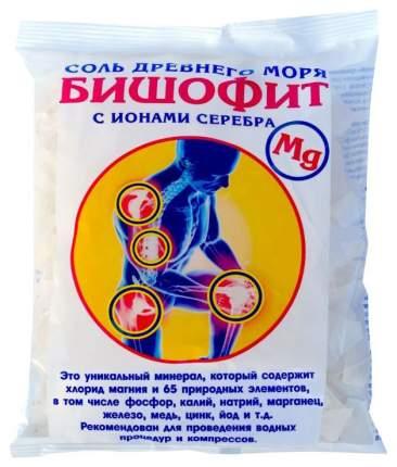 Соль для ванн AROMA'Saules Бишофит сухой, с ионами серебра, 0,5 кг
