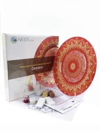 Набор для росписи тарелки NESTbase Сказка (122602)