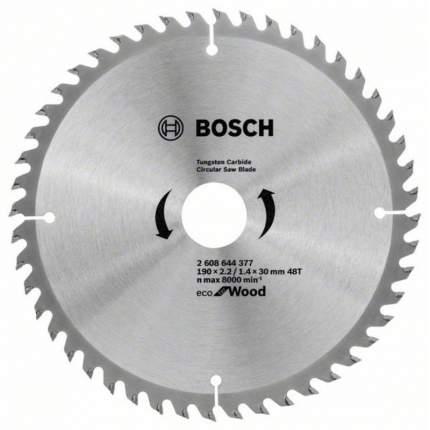 Пильный диск ECO WO 190x30-48T 2608644377 Bosch