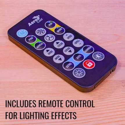 Хаб для управления RGB подсветкой  Aerocool H66F (6x6pin, пульт д/у) RTL