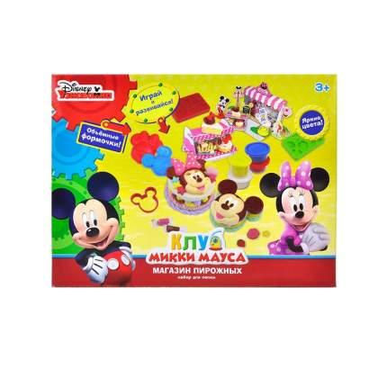 Disney Набор для лепки Клуб Микки Мауса Магазин пирожных 6 цв., аксесс., инструк. Disney
