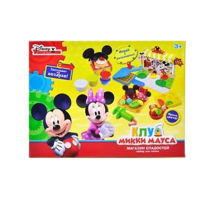 Disney Набор для лепки Клуб Микки Мауса Магазин сладостей масса для лепки - 6 цв.