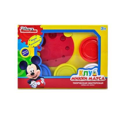 Disney Набор для лепки Клуб Микки Мауса Творческая мастерская масса для лепки 4 цв. 50 г
