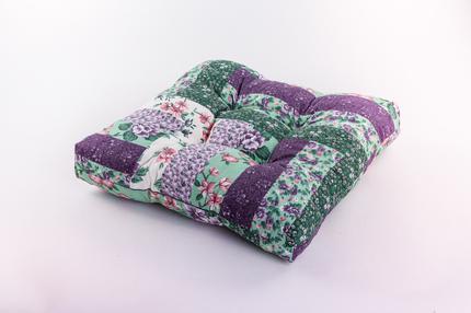 Сидушка для стула Tarrington House 40 х 40 см многоцветная