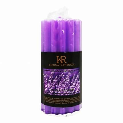 Свеча ароматическая Kukina Raffinata столбик Рельеф 50 мм х 100 мм
