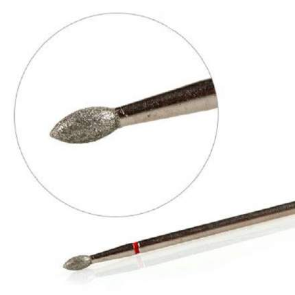 Фреза KrasotkaPro «Почка мелкая» D=2,5 мм L=5 мм, красная