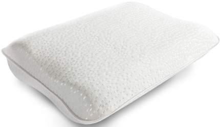 Подушка ортопедическая MagicSleep Мемо Люкс 50 х35 х12/14 см трикотаж белый