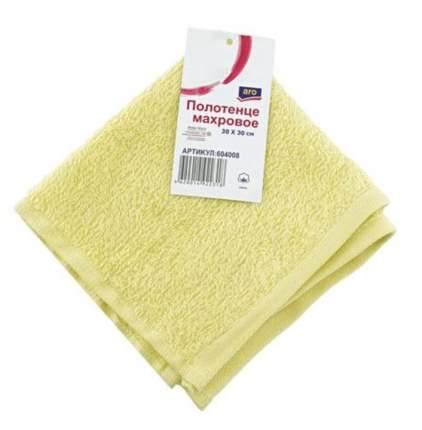 Полотенце Aro 30 х 30 см махровое желтое