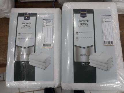 Полотенце Metro Professional 90 х 150 см хлопок белое