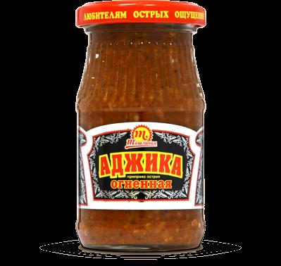 Аджика Ташлинка огненная 170 г