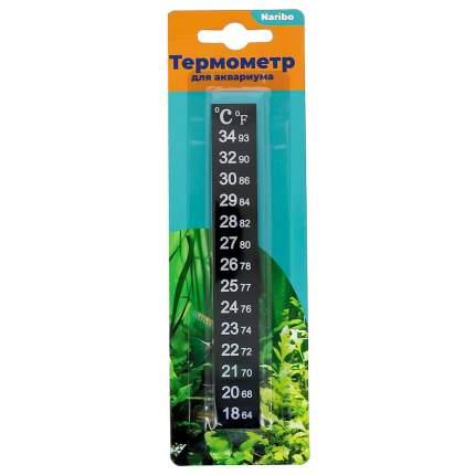 Термометр для аквариума Naribo жидкокристаллический, полоска 18-34С, 13 см