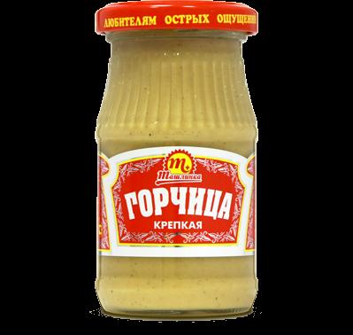 Горчица Ташлинка столовая крепкая 170 г