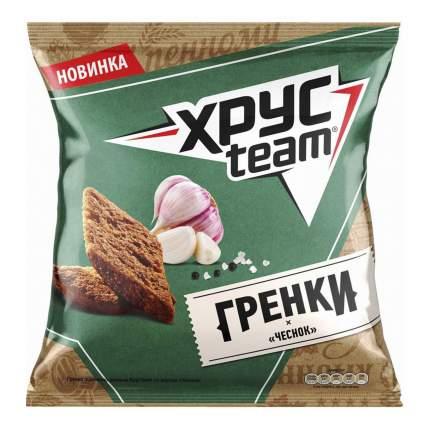 Гренки пшенично-ржаные Хрусteam Чеснок 89 г