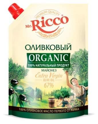 Майонез Mr.Ricco Organic оливковый 67% 800 мл