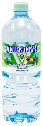 Вода столовая сенежская негаз.п/б 1л