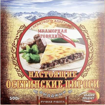 Пирог Алания Продукт Осетинский Фыдджын мраморная говядина замороженный 500 г