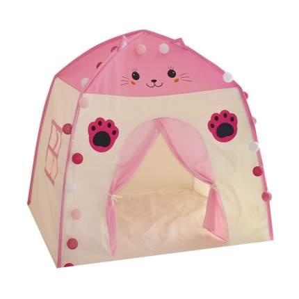 Детская игровая палатка Котик розовый 001080_1