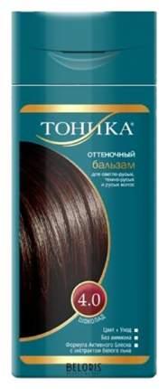 Оттеночный бальзам для волос Тоника 4.0 Шоколад, 150 мл
