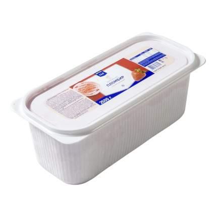 Мороженое пломбир Metro Chef клубничное с кусочками клубники 2,5 кг