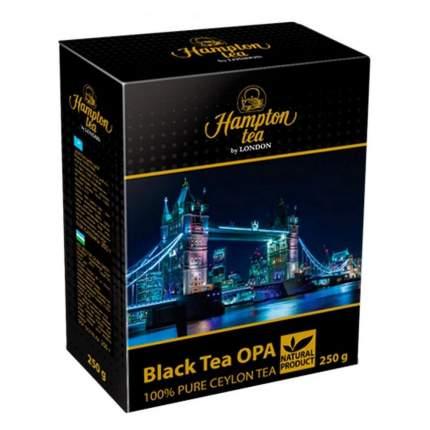 """Чай черный """"Hampton tea"""", крупнолистовой цейлонский, 250 г"""