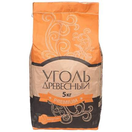 Уголь древесный Велес Premium 37153 5 кг