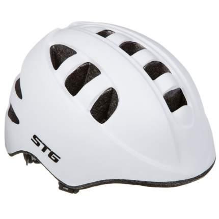 Велосипедный шлем STG MA-2-W, белый, M