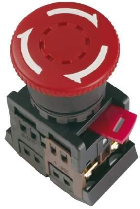 IEK Кнопка AE-22 Грибок с фиксацией красный d22мм 240В 1з+1р