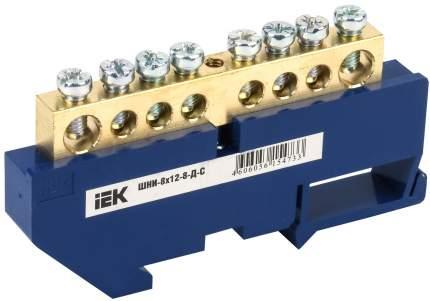 Клеммная шина IEKN ноль на DIN-изол ШНИ-8х12-8-Д-С