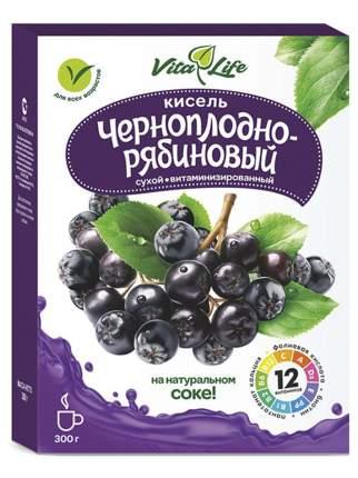Кисель витаминизированный АЛТАЙВИТАМИНЫ Виталайф черноплодно-рябиновый 300 гр.