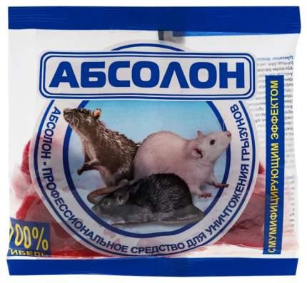 "Средство для уничтожения грызунов ""Абсолон"", тесто-брикеты, 100 грамм"