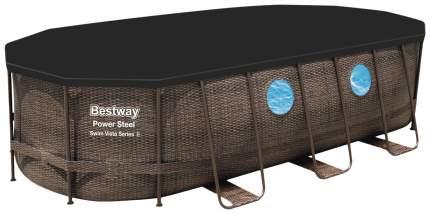 Каркасный бассейн Bestway Power Steel Swim Vista 56714 427x250x100 см