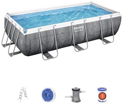 Каркасный бассейн Bestway Power Steel 56721 404x201x100 см