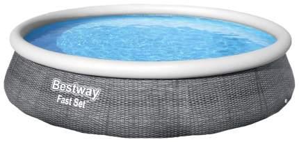 Надувной бассейн Bestway Fast Set 57376 396x396x84 см