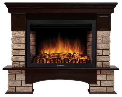 Портал Forte Wood 30 камень коричневый, шпон темный дуб
