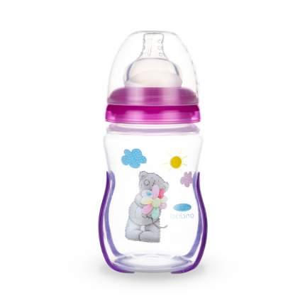 Термочувствительная бутылочка для кормления, с широким горл. Baboo Me to You 230мл, 3-110