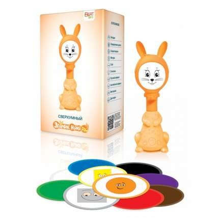 Интерактивная развивающая игрушка для малышей BertToys Умный Зайчик Няня PRO FD110/Оранж.