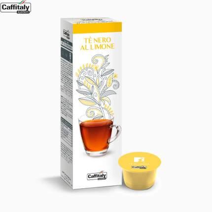 Чай в капсулах Caffitaly system Ecaffe Te Nero Al Lemon, 10 кап.