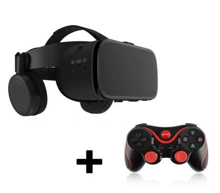Очки виртуальной реальности BoboVR Z6 черный c геймпадом Terios S3